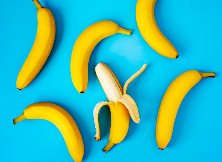 Many bananas in modern grocery stores are larger than the standard serving size.