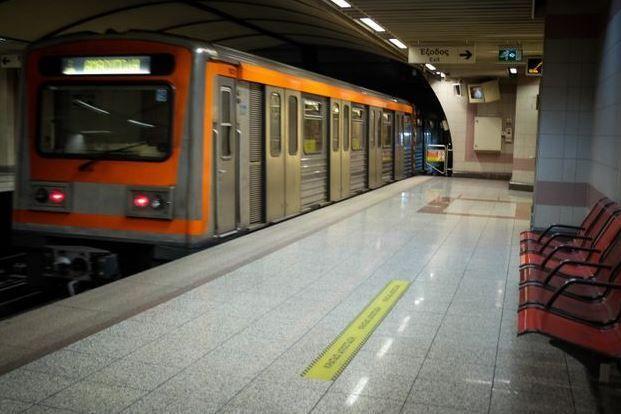 Κλειστός ο σταθμός του μετρό στο