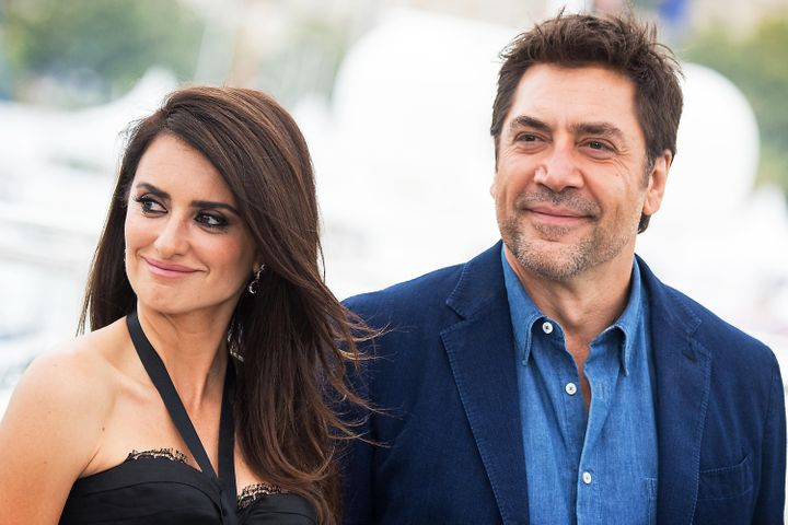 "Penelope Cruz and Javier Bardem attend the photocall for ""Everybody Knows (Todos Lo Saben),"" in which they co-starred, during the Cannes Film Festival on May 9, 2018, in France."