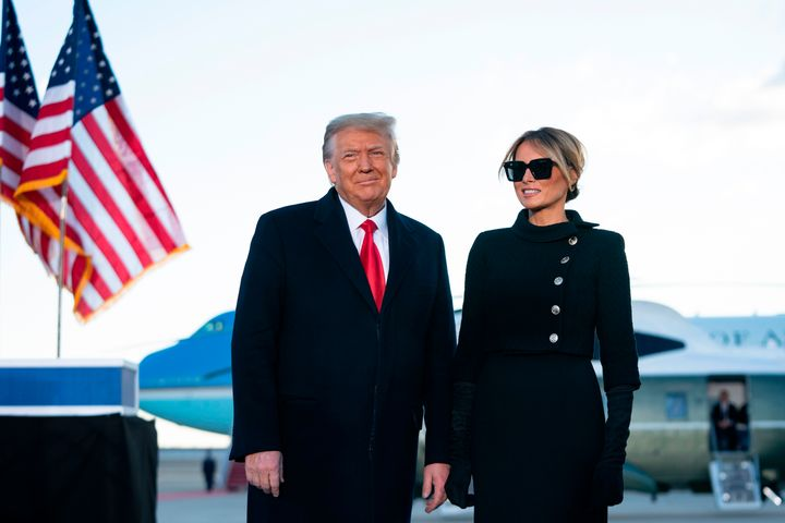 Donald and Melania Trump skipped Joe Biden's inauguration but not, as it turns out, the chance to get vaccinated against the