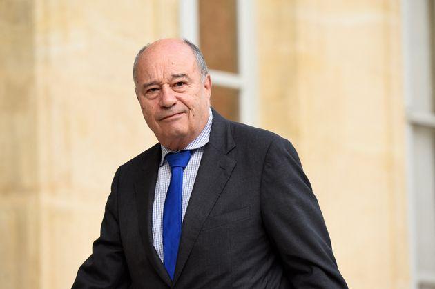 Jean-Michel Baylet, ici à l'Élysée à Paris, en juillet
