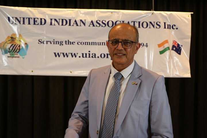 Dr Sunil Vyas, president of the United Indian Associations, said vaccination misinformation is spreading in communities.