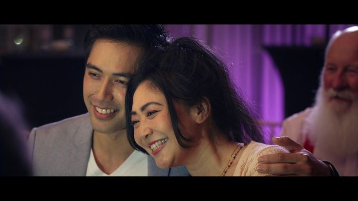 Kathy Luu and Damian Sato star in the Australian film 'Rhapsody of Love'.
