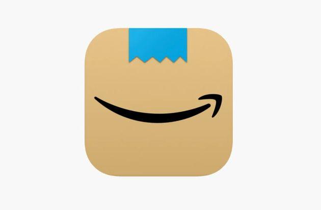 Captura de pantalla del icono que la app de Amazon estrenó en