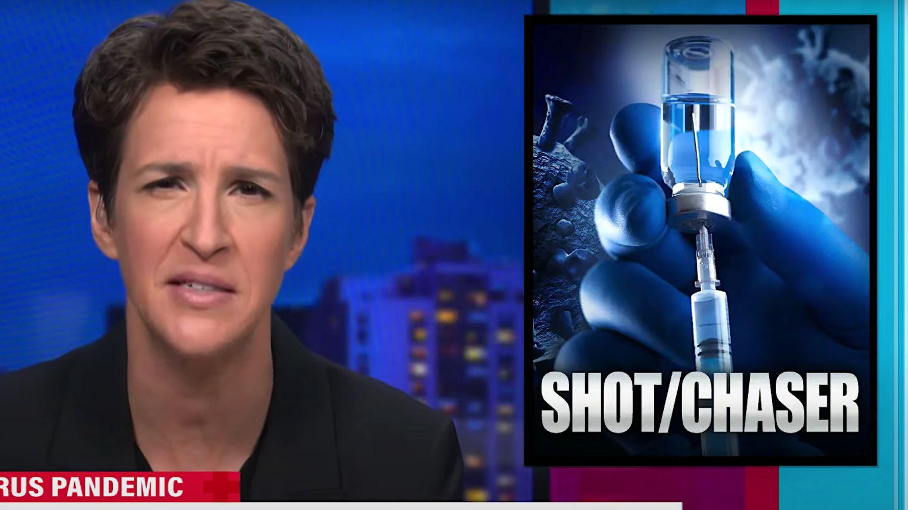 Rachel Maddow Rips Donald Trump Over 'Secret' COVID-19 Vaccination