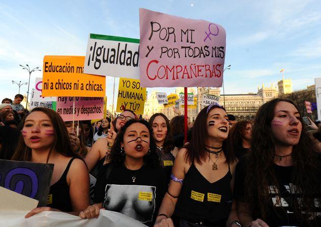 Manifestación del 8 de Marzo en Madrid
