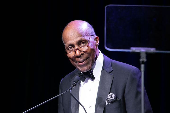 WASHINGTON, DC - MARCH 07: Vernon Jordan speaks at the UNCF A MInd Is Gala 75th Anniversary at Marriott Marquis Washington, D
