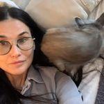 Demi Moore avocate du sans maquillage et du