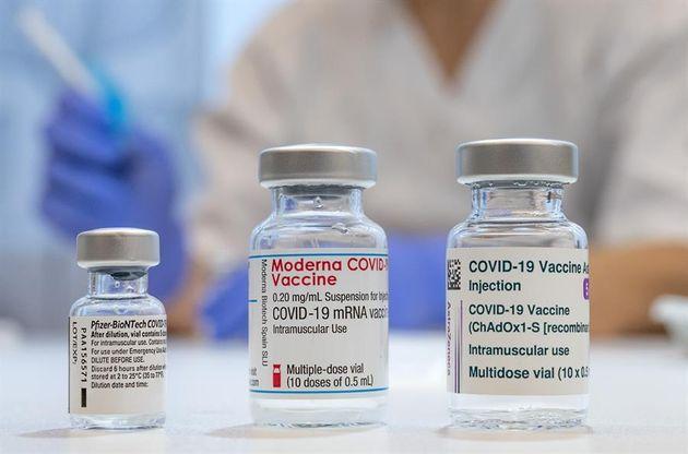 Dosis de las vacunas de Pfizer-BioNTech, Moderna y