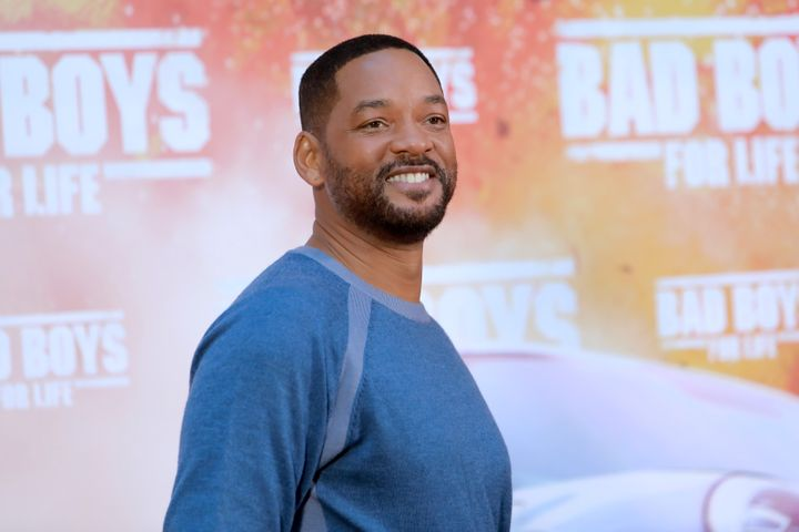 """Will Smith attends the """"Bad Boys for Life"""" photo call at Hotel Villa Magna on Jan. 8, 2020, in Madrid, Spain."""