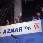 25 años de la victoria de Aznar: cómo están los protagonistas de la foto del