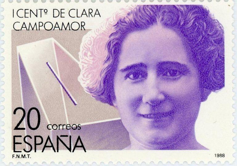 En 1988, Correos rindió homenaje a una de las mujeres que abanderaron la lucha por la igualdad...