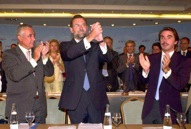 Imagen de archivo: Arenas, Rajoy y