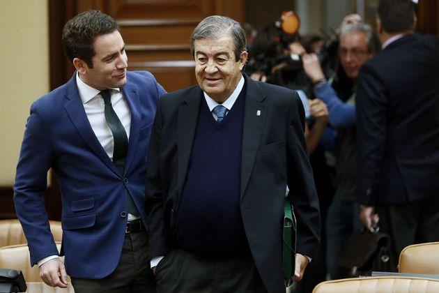García Egea y Cascos, en el