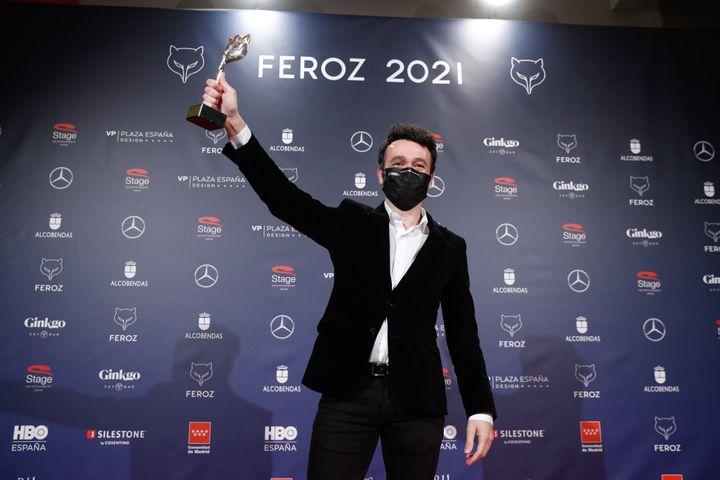 Rodrigo Sorogoyen gana el Feroz a la Mejor serie dramática por 'Antidisturbios'.