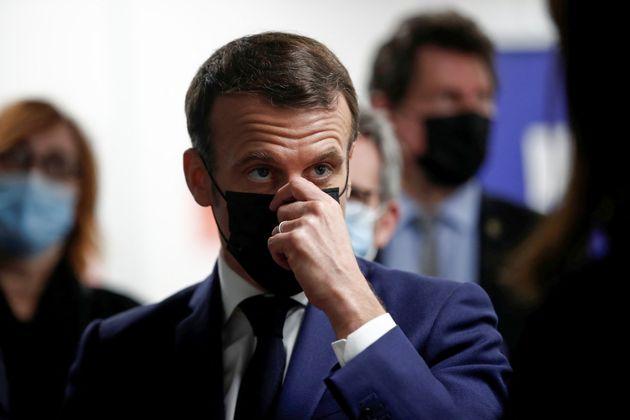 Emmanuel Macron, ici à Bobigny (Seine-Saint-Denis), le 1er mars