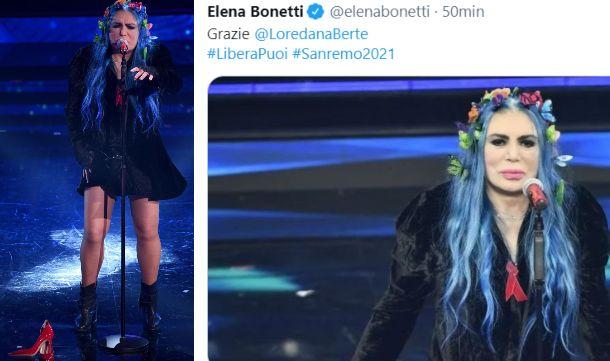 """Sanremo 2021, Bertè contro la violenza sulle donne. Bonetti e Bellanova: """"Grazie, straordinaria"""""""
