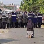 현재 미얀마의 상황을 단적으로 보여주는 한장의