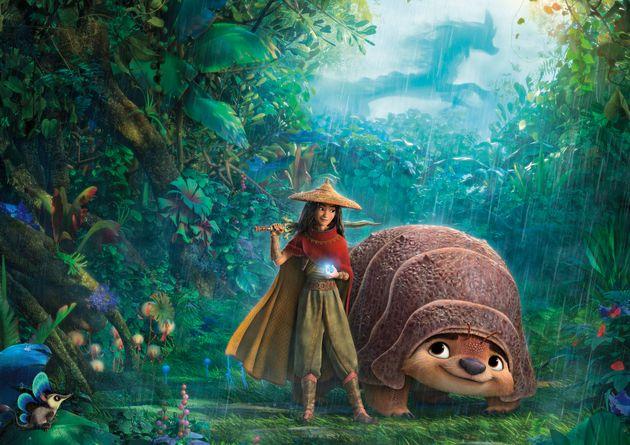 3月5日に劇場公開・ストリーミング配信されたディズニー・アニメーション最新作『ラーヤと龍の王国』。