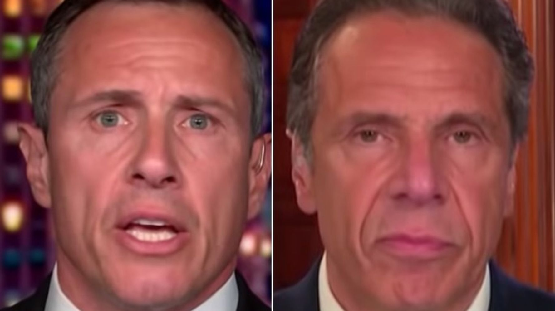'Daily Show' Taunts Cuomo Brothers With Embarrassingly Awkward Supercut Video