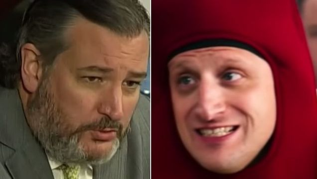 Chris Hayes Mocks Ted Cruz For Showing Up To Hearing 'In A Hot Dog Suit'.jpg