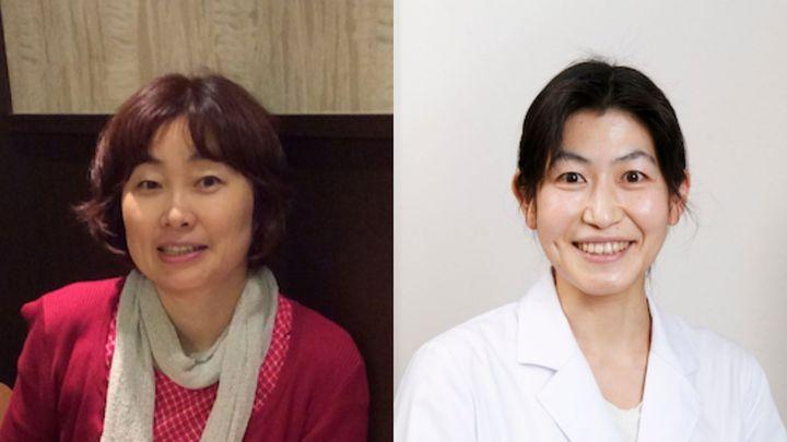 (左から)漫画家の細川貂々さん、精神科医の水島広子さん