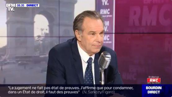 Renaud Muselier, Président du conseil régional de Provence-Alpes-Côte d'Azur, sur le plateau de Bourdin...