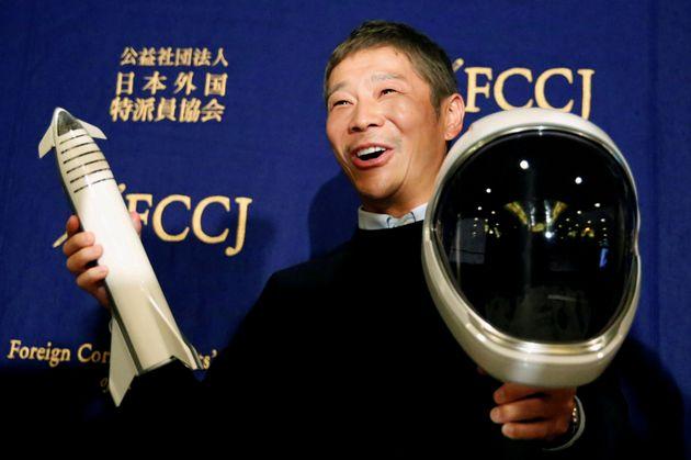 Ο δισεκατομμυριούχος Ιάπωνας ιδρυτής της εταιρείας Zozo