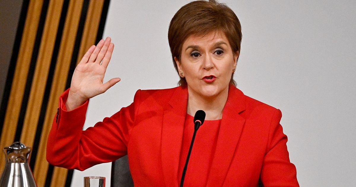 Nicola Sturgeon Calls Alex Salmond's Claims Of A Plot Against Him 'Absurd'