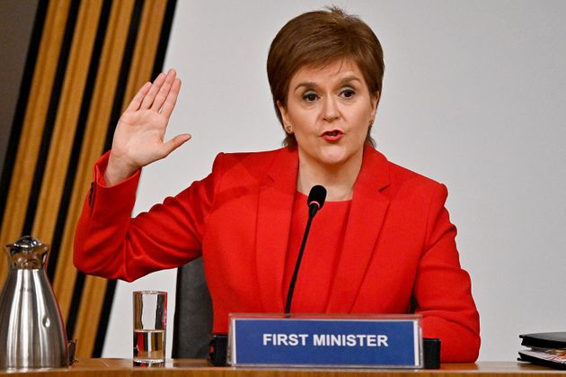 Nicola Sturgeon Calls Alex Salmond's Claims Of A Plot Against Him 'Absurd'