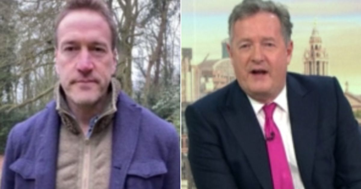 Ben Fogle Expertly Shuts Down Piers Morgan's Meghan Markle Question On Good Morning Britain