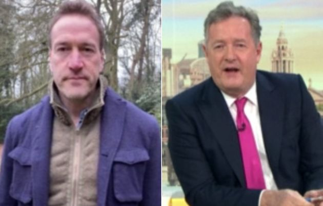 Ben Fogle Shuts Down Piers Morgan's Question About Meghan Markle On Good Morning Britain
