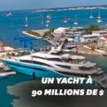 Le yacht d'un milliardaire s'est écrasé sur un quai dans les
