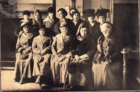 Foto de las primeras telegrafistas