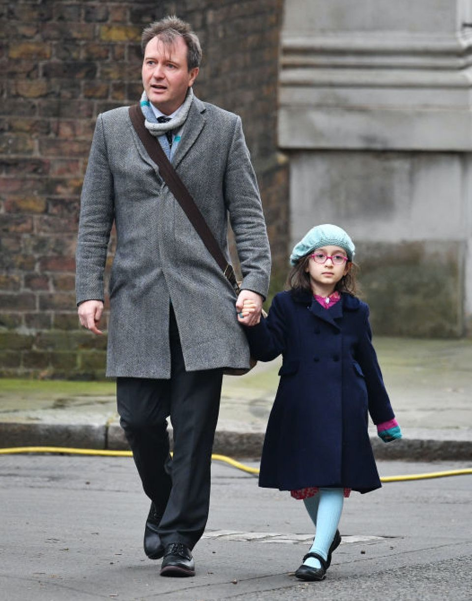 Richard is unsure of how to prepare daughter Gabriella, now six, for what may or may not happen on