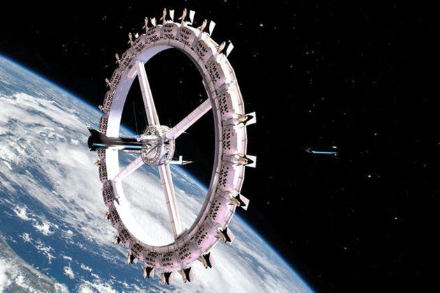 Ο διαστημικός σταθμός - ξενοδοχείο
