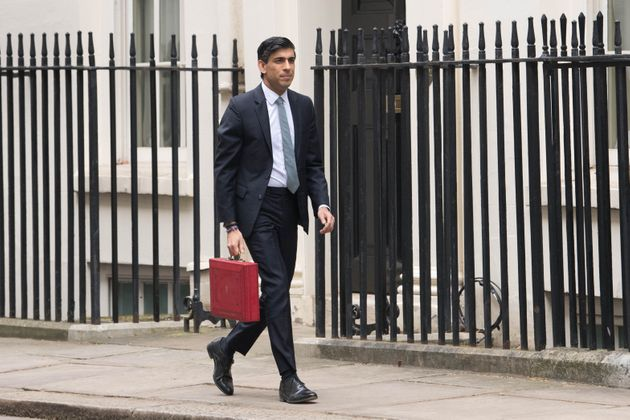 Chancellor Rishi Sunak heads to the Commons to deliver his