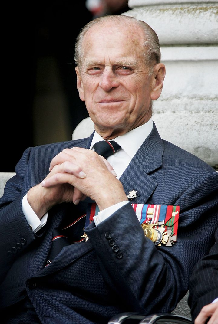 The Duke of Edinburgh pictured at the Imperial War Museum on August 15, 2005 in London, England.