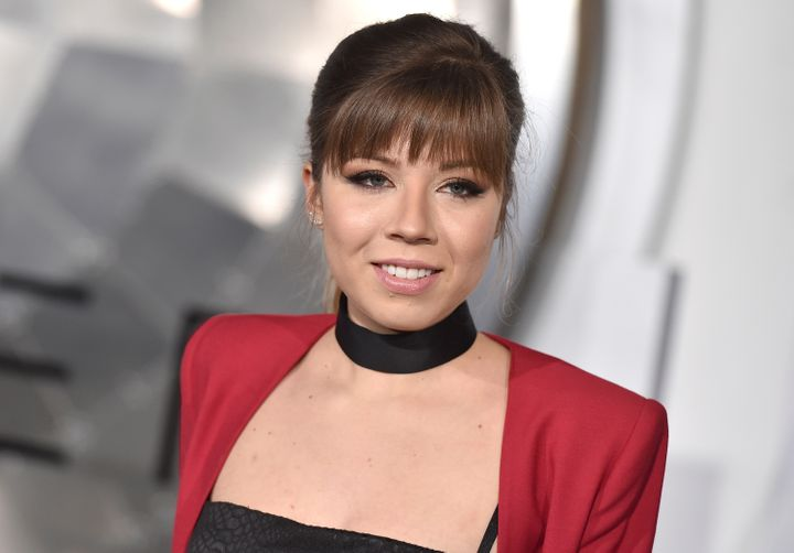 """Jennette McCurdy arrives at the Los Angeles premiere of """"Passengers"""" on Dec. 14, 2016."""