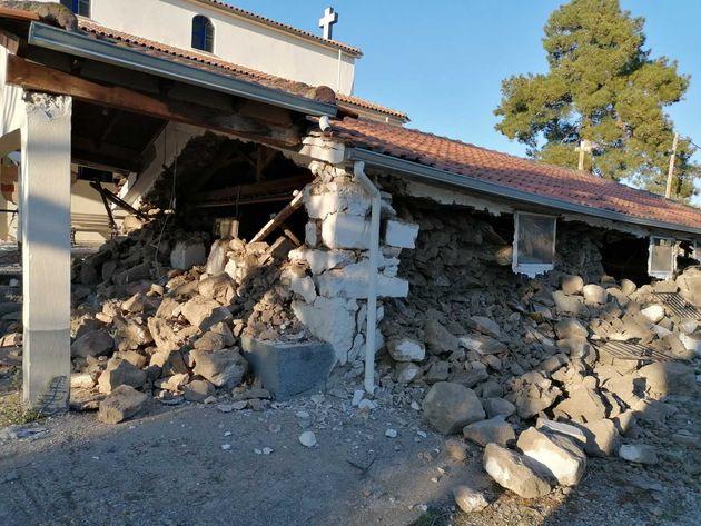 Σοβαρές ζημιές σε δύο μνημεία προκάλεσε ο σεισμός στην