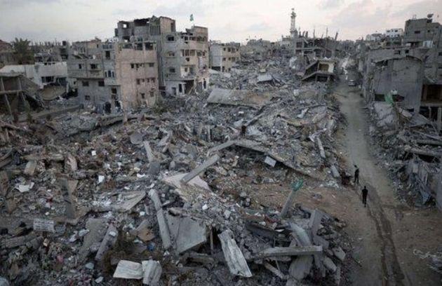 Gaza, tras el ataque israelí en