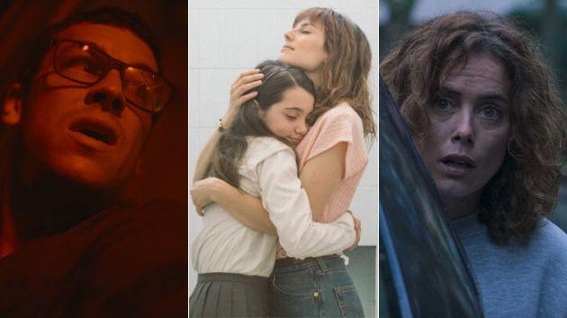 Una imagen de 'No matarás', 'Las niñas' y 'Ane'.