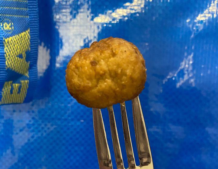 Ikea's classic meatball.