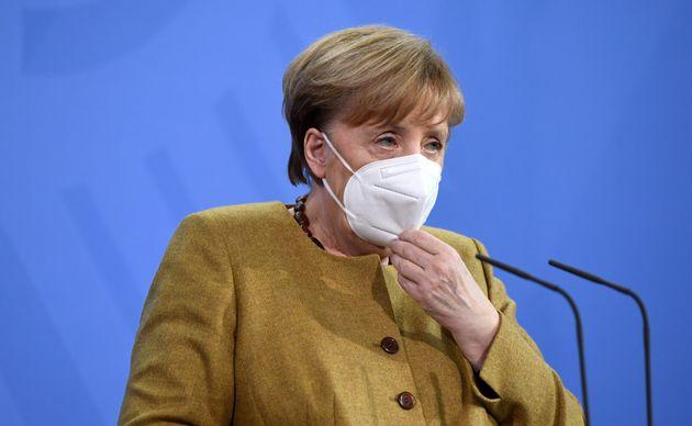 Angela Merkel, ici à Berlin en Allemagne, le 19 février