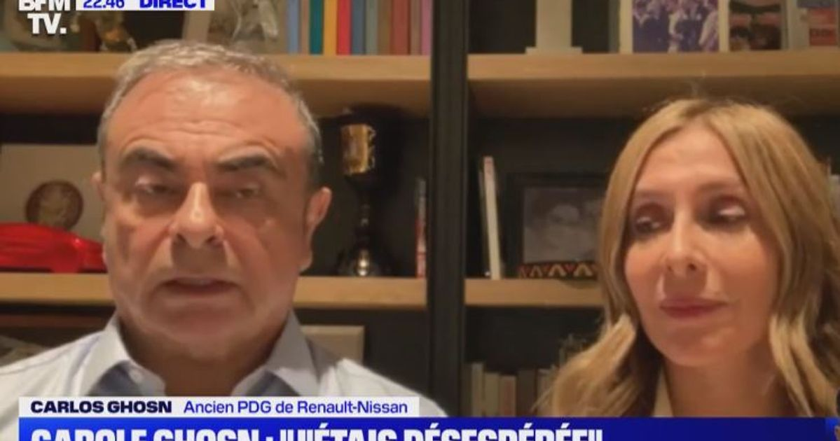 "Carlos Ghosn revient sur sa fuite qui lui a rappelé ""Midnight Express"" - Le HuffPost"