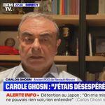 """Carlos Ghosn revient sur sa fuite qui lui a rappelé """"Midnight"""