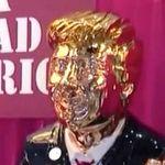 L'origine de cette «idole dorée» de Trump est plutôt