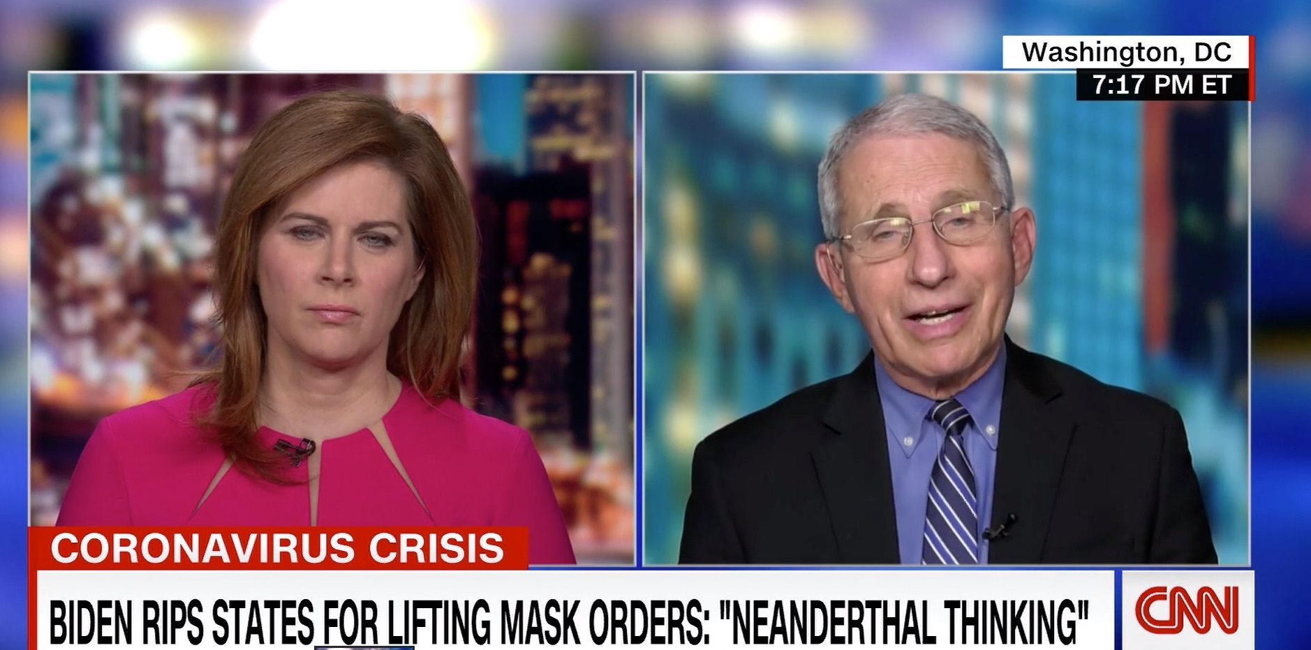 Fauci Delivers Stark Warning To Republicans Easing Coronavirus Restrictions