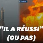Le prototype de fusée SpaceX explose au sol quelques minutes après son