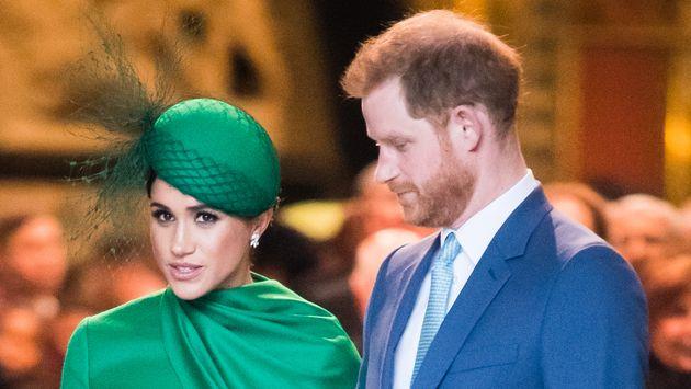 Meghan Markle y el príncipe Enrique en el Día de la Commonwealth de